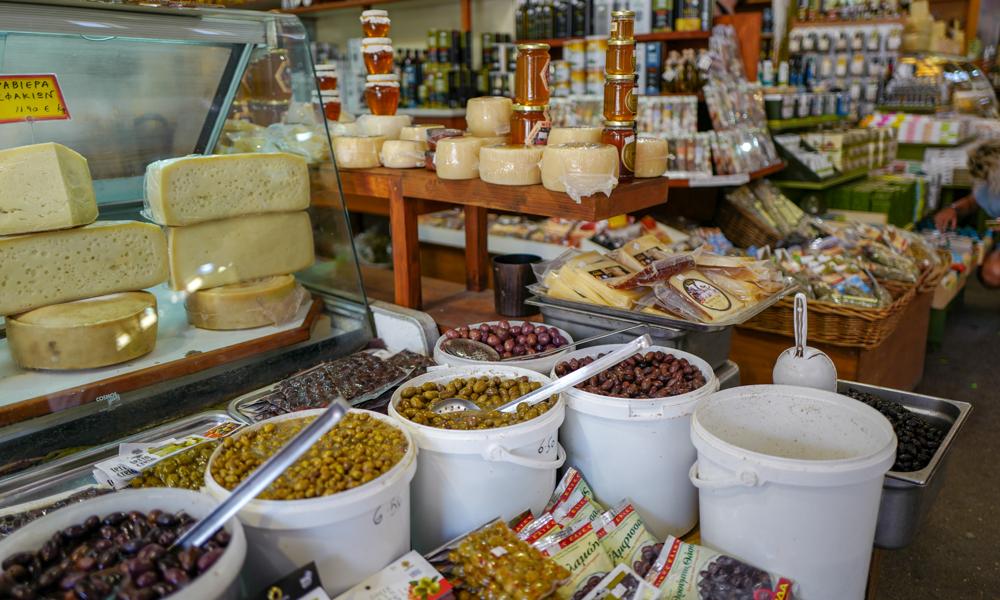 Lokal butikk i Hellas