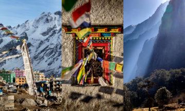 Byen Kyanjin i Nepal
