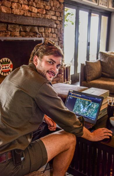 Craig Sholto-Douglas jobber mot å bevare dyrebestanden i Phinda